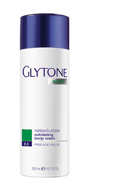 Glytone Body Retexturize Exfoliating Body Wash 6.7 oz.