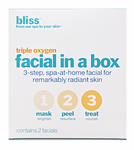 bliss triple oxygen facial in a box (2 facials)