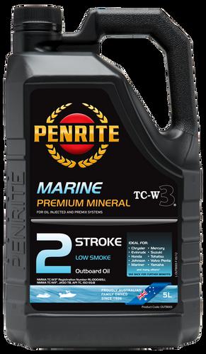Penrite Marine Outboard 2 Stroke 5L (OUTB005)