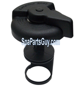 """Catalina Spas 2"""" Spa Diverter Valve Repair Kit - Handle - Cap - 2 o-rings - Gate"""