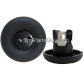 "152 Catalina Spas Pulsator Style MIni Spa Jet Insert 2 3/4"" Black"