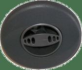"Jacuzzi Jet Insert Mini Power Pro DX # 6540-766  3 1/4"""" Gray Fits : 2002-2003"