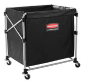 1881750 CARRO PLEGABLE X CART CON BOLSA NEGRA MARCA RUBBERMAID