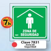 7831 SEÑAL ELITE MINI ZONA DE MENOR RIESGO