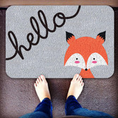 TAPETE DECORATIVO 3M Practik DISEÑO HELLO ZOO FOX GRIS