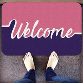 TAPETES PERSONALIZADOS AlproShop® | TAPETE DECORATIVO ELITE MAT DISEÑO WELCOME PINK