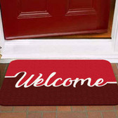 TAPETES PERSONALIZADOS AlproShop® |  TAPETE DECORATIVO ELITE MAT DISEÑO WELCOME RED