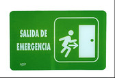 7760 SEÑAL PLACA RIGIDA SALIDA DE EMERGENCIA
