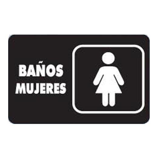 Imagen Para Baño De Damas:Letreros De Banos Para Mujeres