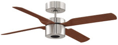 FANIMATION - MULTIMAX: ENERGY SAVER 58 WATTS BRUSH NICKEL, WALNUT/CHERRY (CLICK TO VIEW DETAILS OR CALL FOR FREE EXPERT ADVICE & PRICING)