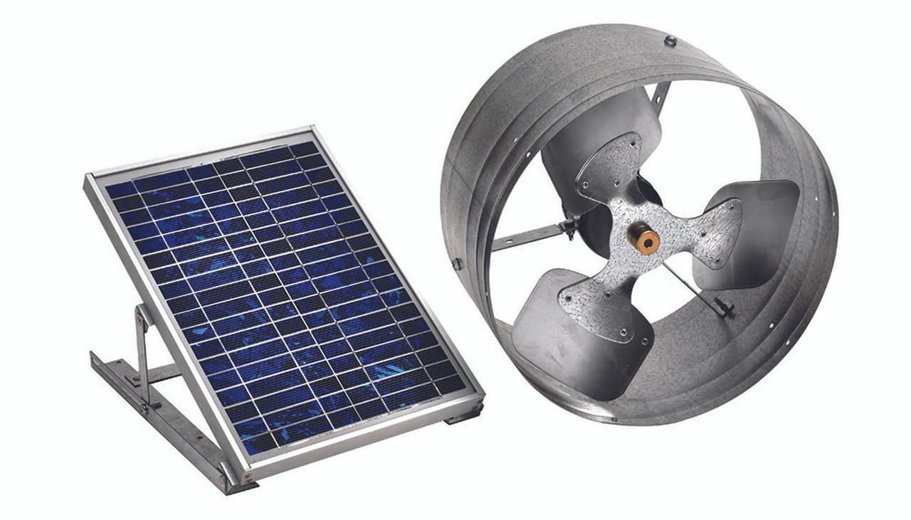 Green Machine Gable Solar Vent 500 Cfm Master Flow