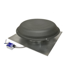 Roof Mount Attic Fan Shingle Matched Weatheredwood (1600 CFM) Master Flow (CLICK TO VIEW DETAILS OR CALL FOR FREE EXPERT ADVICE)
