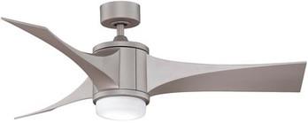 metro gray finish fan with metro gray blades