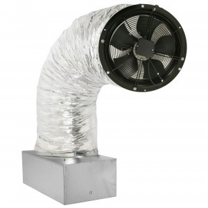 SILENT-COOL PREMIER 1.9 (2287 CFM FREE STANDING ENERGY SAVER 130 WATTS HIGHLY RATED GERMAN FAN MOTOR) WHOLE HOUSE FAN: up to 900 SQ. FT.