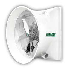 "Mega Storm 72"" Exhaust Fan With Cone 50,000 cfm @ .05"" SP 3 HP RPM 3 PH"