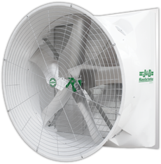 "J&D's 72"" Mega Torque fan boasts some of the best performance on the market today for a fan of this size! 45,355 CFM at 0.05"" static pressure plus no belts, no pulleys, no tensioners.  Contact us today. Features  • Save Time & Money  No Belts to Change No Pulleys to Maintain No Lubricating Bearings No Greasing Motor • Maintains a continuous high level of performance with no power loss or reduction from aging belts and pulleys  • FANtastic performance combined with great efficiency"