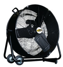"J&D PORTABLE DRUM FAN 24"" - Direct Drive  5,500/7,200 CFM   (CLICK TO VIEW DETAILS OR CALL FOR FREE EXPERT ADVICE & PRICING)"