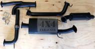 """Y62 8cyl 5.6L Petrol Wagon 3"""" Aluminised Exhaust System"""