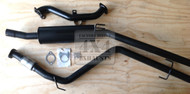 """Holden Rodeo TF 2.8L Cab Chassis (10/98-02/03) 2.5"""" Aluminised Exhaust System"""