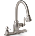 Sonoma Ceramic Disc Pull-Down Kitchen Faucet Brushed Nickel