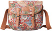 Tapestry Messenger Bag Red Strawberry Thief William Morris Design from Signare  www.The-Village-Square.com EAN:  506238948586 MPN: MESG-STRD