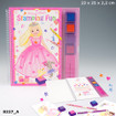 My Style Princess Stamping Fun Colouring Book www.the-village-square.com EAN: 4010070240608