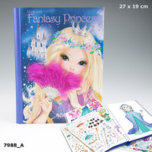 TOPModel Create your Fantasy Princess  Colouring Book www.the-vllage-square.com EAN: 4010070281885