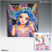 TOPModel POPSTAR Colouring book - Special Sound Edition www.the-village-square.com EAN: 4010070294786