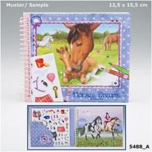 Horses Dream Pocket Colouring Book www.the-village-squate.com EAN: 4010070301033