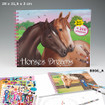 Horses Dreams Colouring Book www.the-village-square.com EAN: 4010070320478