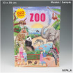 Create Your ZOO Colouring Book www.the-village-square.com EAN:  4010070333805