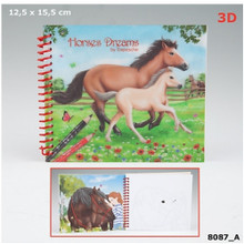 Horses Dreams Pocket Colouring Book A -  : 4010070330194