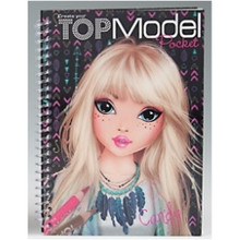 Top Model Pocket Colouring Book 3D Cover www.the-village-square.com EAN: 4010070272012