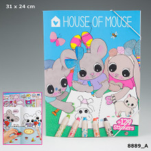 House of Mouse Colouring Book www.the-village-square.com EAN: 4010070325930
