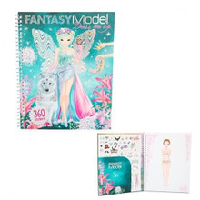 Fantasy Model Dress Me Up Stickerbook www.the-village-square.com EAN:  4010070339913