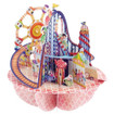 Santoro 3D Pop-Up Pirouette Greeting Card -  Fairground www.the-village-square.com EAN:  5018997240489 Pop-Ups Birthday Card