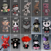 Dark Dudes Character Doll Keyrings www.the-village-square.com Dark Dudes