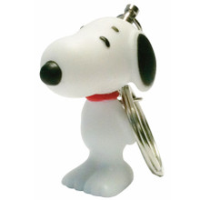 White Snoopy Keyring www.the-village-square.com