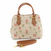 Tapestry convertible Handbag - Rose Pink Tapestry Shoulder Bag www.the-village-square.com