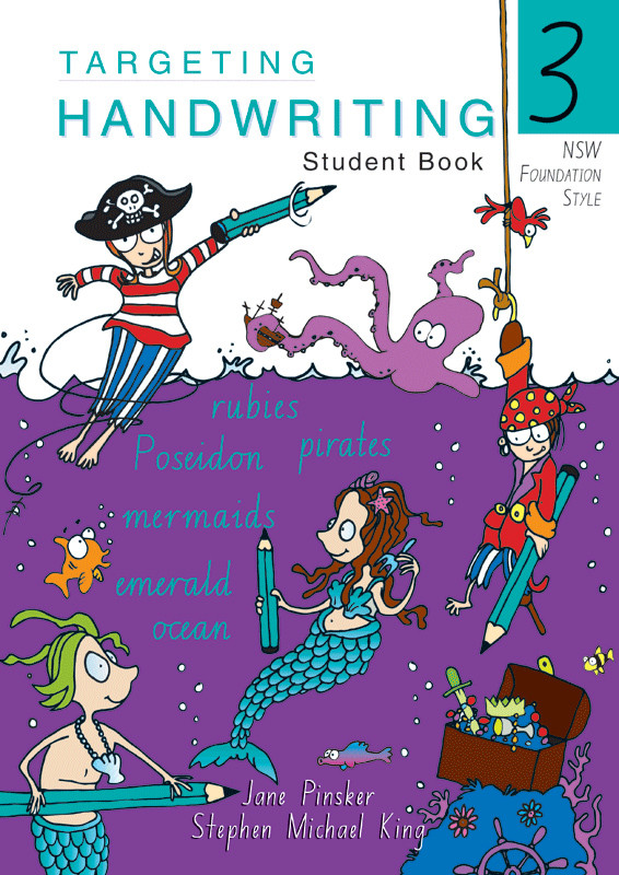 Targeting Handwriting Nsw Student Book Year 3 Pascal Press