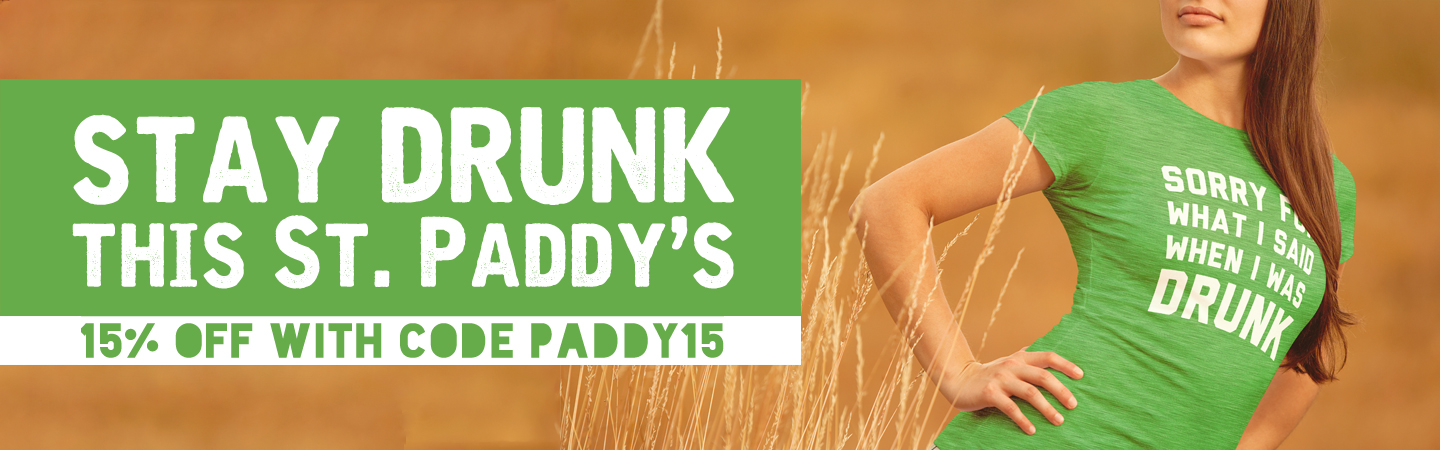15% off with code paddy15