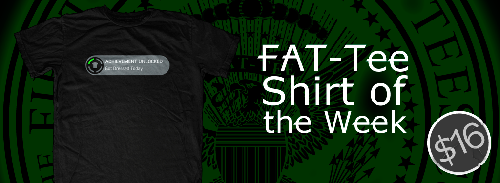 Achievement Unlocked T-Shirt of the Week
