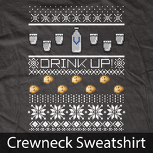 Vodka Ugly Christmas Sweater