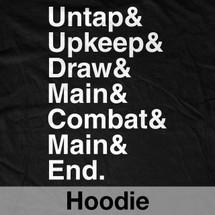 Untap & Upkeep & Draw Hoodie