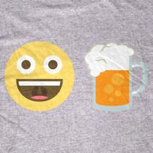 Beer Emoji TShirt