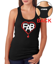 Team Fab Ladies Tank Top