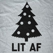 Lit AF Christmas Tree Sweater