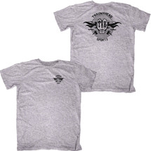 TRAUMAHEAD 2 Sided Sport Grey T-Shirt