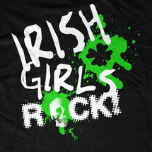 Irish Girls Rock T-Shirt