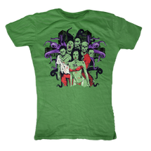 Zombie Nation Womens T-Shirt